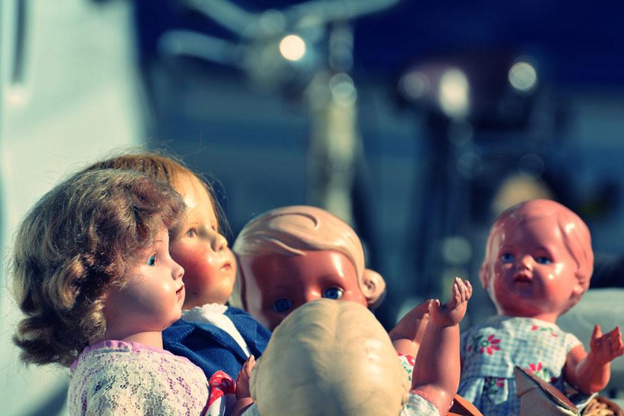 Kindheit Puppen